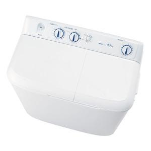 (標準設置 送料無料) ハイアール 4.5kg 2槽式洗濯機 ホワイト Haier JW-W45E-...