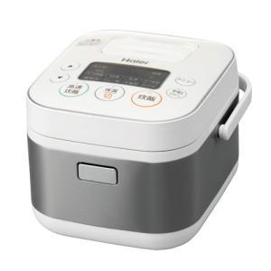 ハイアール マイコンジャー炊飯器(3合炊き) ホワイト Haier Joy Series JJ-M31D-W 返品種別A|joshin