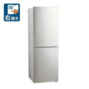 (標準設置 送料無料) ハイアール 270L 2ドア冷蔵庫(シルバー)(右開き) Haier JR-NF270B-S 返品種別A|joshin