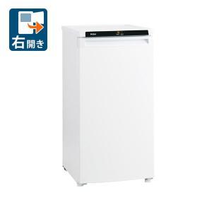(標準設置 送料無料) ハイアール 102L 冷凍庫(右開き)直冷式 ホワイト (フリーザー)Haier JF-NU102B-W 返品種別A|joshin