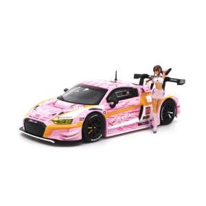 POP RACE 1/ 64 Audi R8 LMS エヴァ RT 正規実用型(ヴィレカスタム)8号...