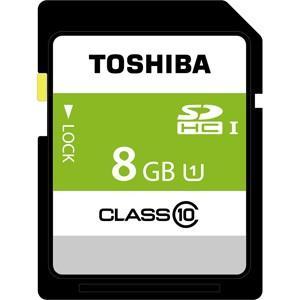 東芝 SDHCメモリーカード 8GB Class10 UHS-I SDBR48N08G 返品種別A joshin
