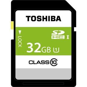 東芝 SDHCメモリーカード 32GB Class10 UHS-I SDBR48N32G 返品種別A joshin
