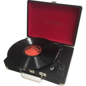 チコニア クラシカルレコードプレーヤー(ブラック) CICONIA TY-1706BK 返品種別A joshin