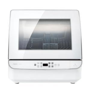 アクア 食器洗い機(ホワイト) (食洗機)(送風乾燥機能付き) AQUA ADW-GM1-W 返品種別A|joshin
