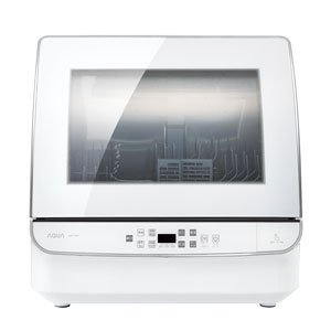 アクア 食器洗い機(ホワイト) (食洗機)(送風乾燥機能付き) AQUA ADW-GM1-W 返品種...