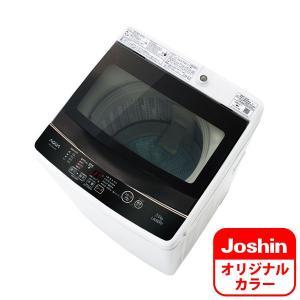 (標準設置 送料無料) アクア 5.0kg 全自動洗濯機 ホワイト AQUA AQW-GS50G-W のJoshinオリジナルモデル AQW-G50GJ-W 返品種別A|joshin