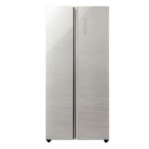 (標準設置 送料無料) アクア 449L 2ドア冷蔵庫(ヘアラインシルバー) AQUA AQR-SBS45H-S 返品種別A|joshin