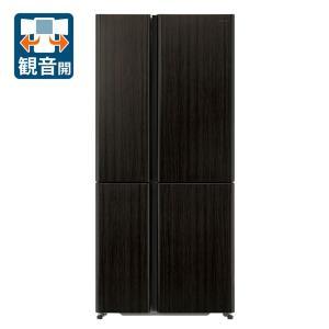 (標準設置 送料無料) アクア 512L 4ドア冷蔵庫(ダークウッドブラウン) AQUA TZシリーズ AQR-TZ51H-T 返品種別A joshin