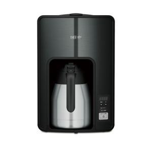 サーモス コーヒーメーカー ブラック THERMOS 真空断熱ポットコーヒーメーカー ECH-1001-BK 返品種別A|joshin