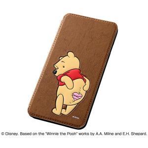 レイ・アウト iPhone 6 Plus/ 6s Plus用ディズニー・ポップアップ・ブックカバータイプ・レザージャケット 合皮(プー) RT-DP8J/ PO 返品種別A joshin