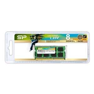 シリコンパワー PC3L-12800(DDR3L-1600)204pin DDR3 SDRAM S.O.DIMM 8GB SP008GLSTU160N02JB 返品種別B|joshin