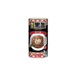 毎日黒缶3P かつお アイシア マイニチクロカンカツオ3P 返品種別B|joshin