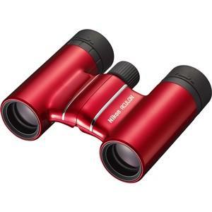 ニコン 双眼鏡「ACULON T01 10X21」(倍率10倍)(レッド) ACT01-10X21RD 返品種別A|joshin