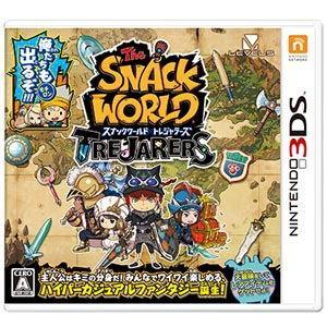 レベルファイブ (封入特典付)(3DS)スナックワールド トレジャラーズ 返品種別B joshin