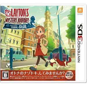 レベルファイブ (3DS)レイトン ミステリージャーニー カトリーエイルと大富豪の陰謀 返品種別B joshin