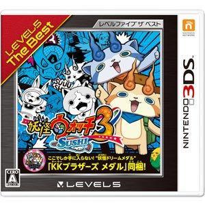 レベルファイブ (3DS)妖怪ウォッチ3 スシ レベルファイブ ザ ベスト 返品種別B