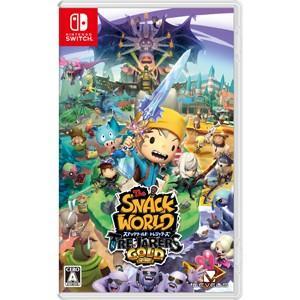 レベルファイブ (封入特典付)(Nintendo Switch)スナックワールド トレジャラーズ ゴールド 返品種別B