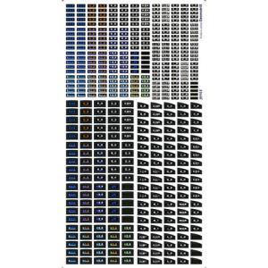 ジオマトリックス・デザイナーズ・インク 225系 前面表示 ベータ版 カトーサイズ フィルムシール J8905の商品画像|ナビ