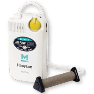 ハピソン 乾電池式エアーポンプ 静音設計 ミクロ Hapyson 山田電器工業 YH-735C 返品...