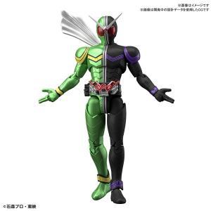 バンダイスピリッツ Figure-rise Standard 仮面ライダーW サイクロンジョーカープラモデル 返品種別B|joshin