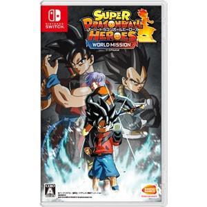 バンダイナムコエンターテインメント (封入特典付)(Nintendo Switch)スーパードラゴンボールヒーローズ ワールドミッション 返品種別B|joshin