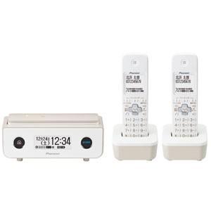 パイオニア デジタルコードレス留守番電話機(子機2台)マロン Pioneer TF-FD35シリーズ TF-FD35T(TY) 返品種別A|joshin