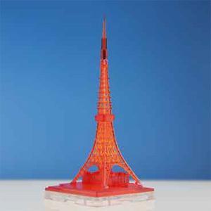 日本卓上開発株式会社 1/ 2500 ジオクレイパー 東京タワー イルミネーションタワー クリアレッド(ALG-17)トレーディングフィギュア 返品種別B|joshin