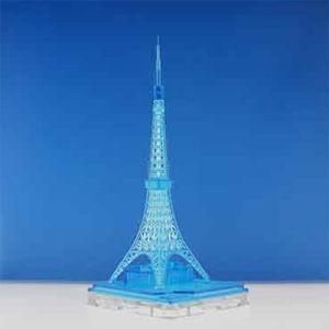 日本卓上開発株式会社 1/ 2500 ジオクレイパー 東京タワー イルミネーションタワー クリアブルー(ALG-18)トレーディングフィギュア 返品種別B|joshin