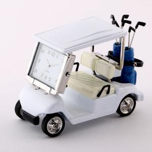 ミニチュアクロック Miniature Clock Collectionゴルフカート C3570-W...