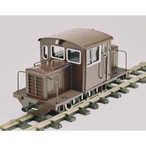 ワールド工芸 (再生産)(HOナロー) 頸城鉄道 DC92 ディーゼル機関車 組立キット リニューアル品 返品種別B|joshin