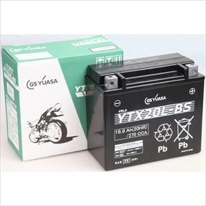GSユアサ バイク用バッテリー(電解液注入・充電済)(他商品との同時購入不可) YTX20L-BS 返品種別A|joshin