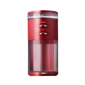 デバイスタイル 電動コーヒーミル レッド deviceSTYLE コーヒーグラインダー GA-1X ...