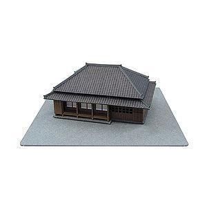 さんけい 1/ 220 田舎家-2 みにちゅあーと・プチシリーズ(MP01-40)組立キット 返品種別B|joshin