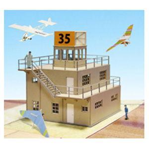 さんけい 1/ 144 航空情景シリーズ 管制塔 type-B(MK08-02)組立キット 返品種別B|joshin