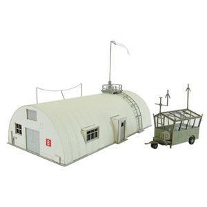 さんけい 1/ 144 航空情景シリーズ 汎用雑務棟(MK08-03)組立キット 返品種別B|joshin