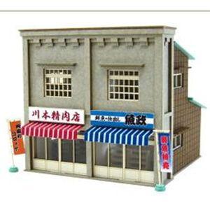 さんけい 1/ 150 なつかしのジオラマシリーズ 商店F(MP03-83)組立キット 返品種別B|joshin