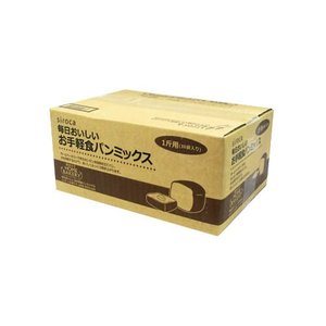 シロカ 毎日おいしい お手軽食パンミックス(1斤×10袋入り) siroca SHB-MIX1260 返品種別B|joshin