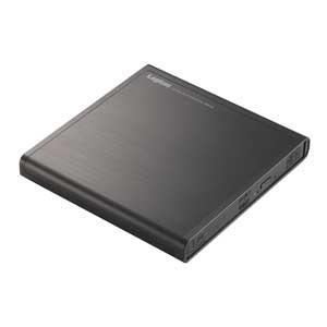 ロジテック USB2.0 ポータブルDVDドライブ 編集再生書込ソフト付き(ブラック) Logitec LDR-PMJ8U2Vシリーズ LDR-PMJ8U2VBK 返品種別A