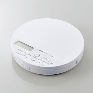 エレコム Bluetooth対応 ポータブルCDプレーヤー(ホワイト) ELECOM LCP-PAP02BWH 返品種別A Joshin web