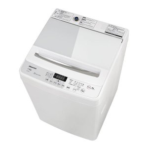 (標準設置 送料無料) ハイセンス 7.5kg 全自動洗濯機 ホワイト/ ホワイト Hisense HW-G75A 返品種別A|joshin