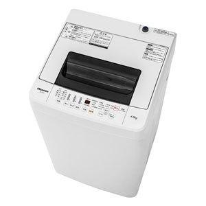 (標準設置 送料無料) ハイセンス 4.5kg 全自動洗濯機...