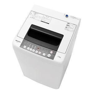(標準設置 送料無料) ハイセンス 5.5kg 全自動洗濯機 Hisense HW-T55C 返品種別A|joshin