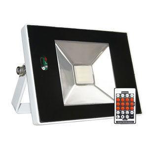 富士倉 LEDセンサーライト(10W)リモコン付き SR-010(フジクラ) 返品種別A
