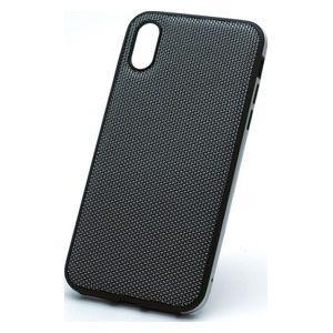 ディーフ iPhone XS/ X用 ハイブリッドケース エタンゼ ナイロンジャケットタイプ(ナイロ...