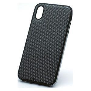 ディーフ iPhone XR用 ハイブリッドケース エタンゼ ナイロンジャケットタイプ(ナイロンシル...