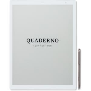 富士通 13.3型 電子ペーパー QUADERNO(クアデルノ)(Gen.2) A4サイズ FUJITSU QUADERNO(クアデルノ) FMVDP41 返品種別A|Joshin web