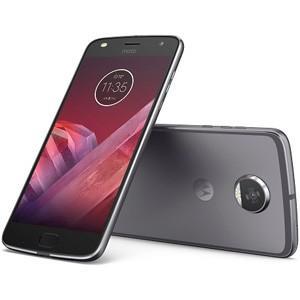 モトローラ SIMフリースマートフォン Moto Z2 Play ルナグレー AP3835AC3J4 返品種別B|joshin