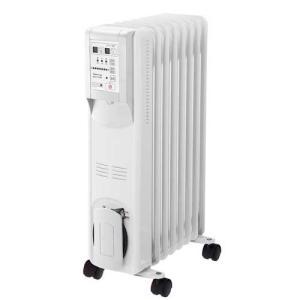 スリーアップ オイルヒーター 3〜8畳 ホワイト 暖房機器 Three-up Hidamari ひだまり OHT-1556WH 返品種別Aの商品画像