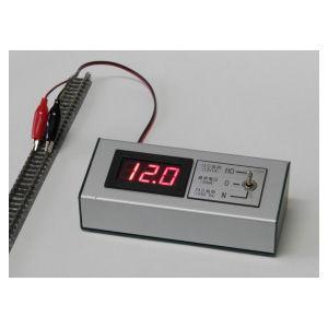 コスミック (N) CP-V20 負荷抵抗内蔵 デジタル電圧計 レールドクター 返品種別B|joshin